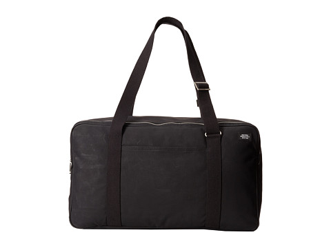 Jack Spade - Milemark Twill Overhead Bag (Black) Carry on Luggage