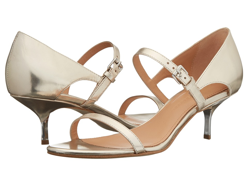 Sigerson Morrison - Seanna (Metallic Platinum Gold Leather) Women
