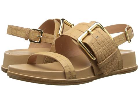 Sigerson Morrison - Solar (Sand Moc Croc Leather) Women