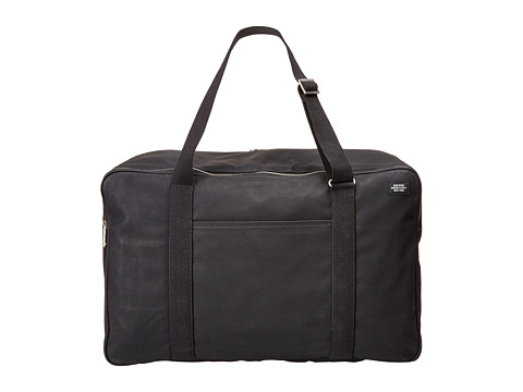 Jack Spade - Milemark Twill Suitcase (Black) Luggage