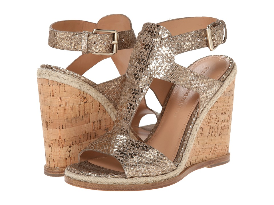 Sigerson Morrison - Valina (Taupe Metallic Leather) Women