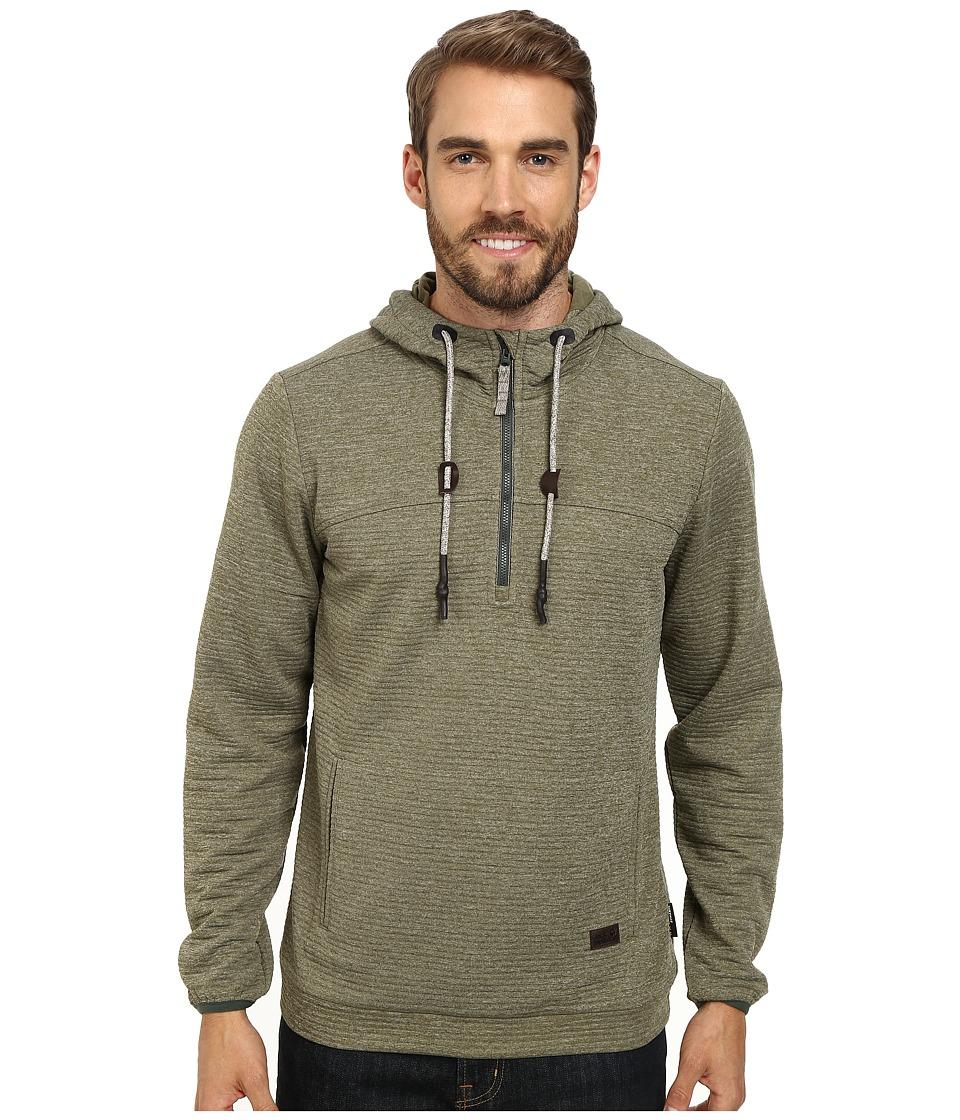 Jack Wolfskin - Tongari Nanuk Hoody (Burnt Olive) Men's Sweatshirt