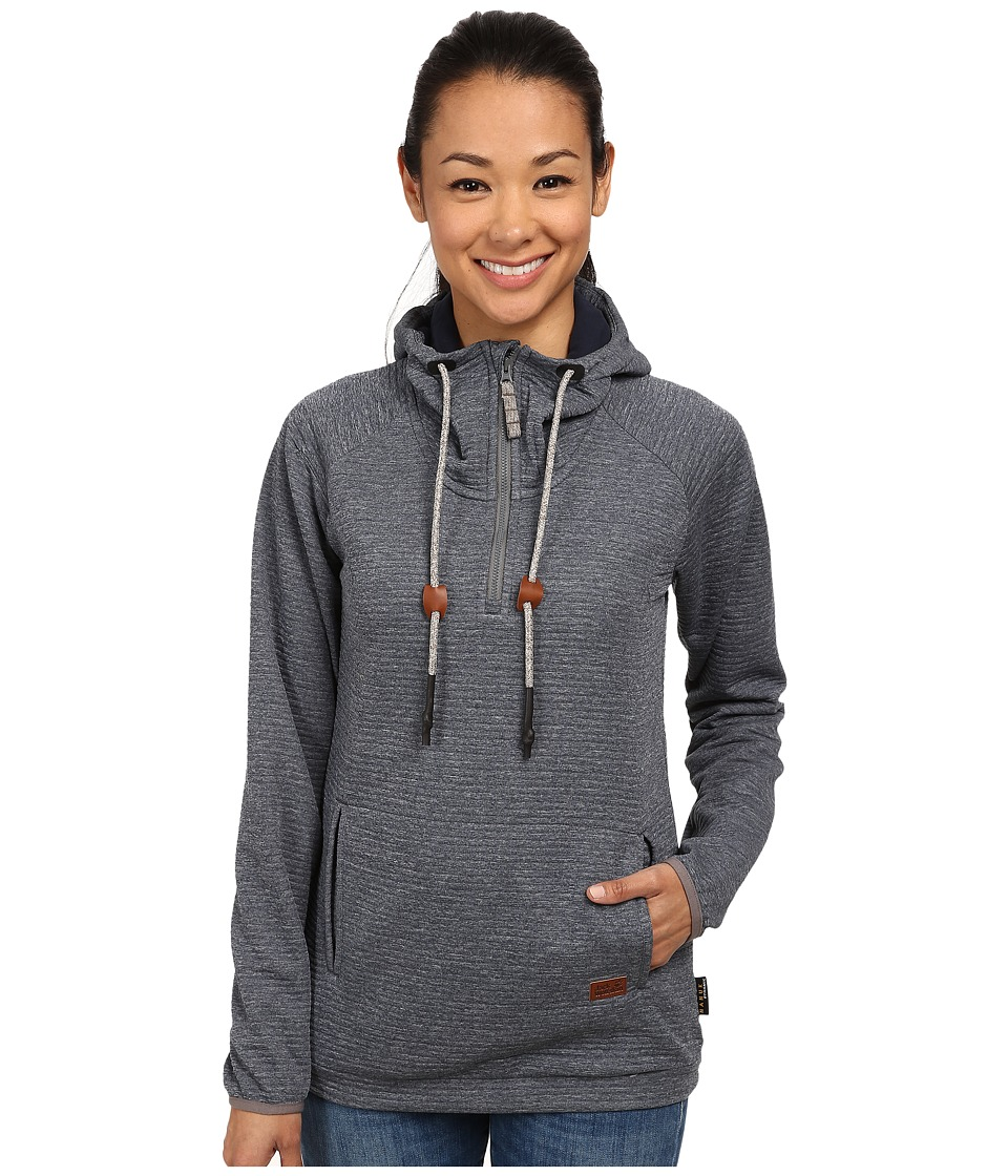 Jack Wolfskin - Tongari Nanuk Hoody (Night Blue) Women's Sweatshirt