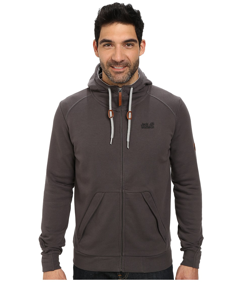 Jack Wolfskin - Sheppart OC Jacket (Dark Steel) Men's Sweatshirt