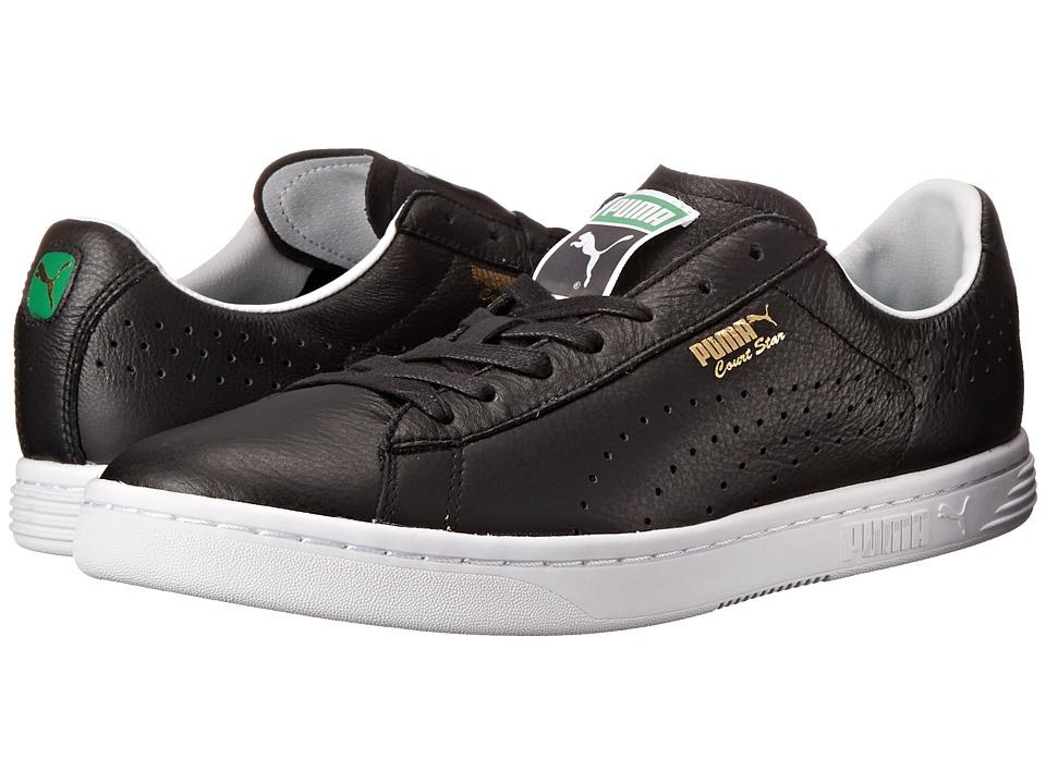 PUMA - Court Star NM (Black) Men's Shoes