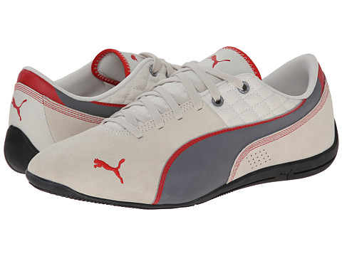 PUMA - Drift Cat 6 Leather (Vaporous Gray/Steel Gray) Men's Shoes