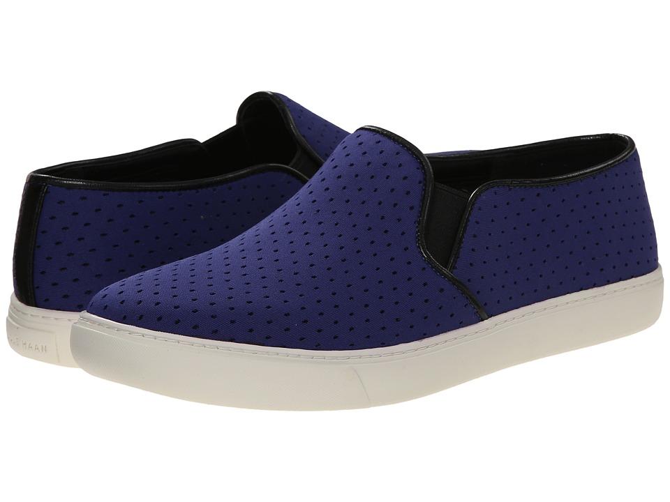 Cole Haan Bowie Slip-On Sneaker (Bristol Blue Perf Textile) Women
