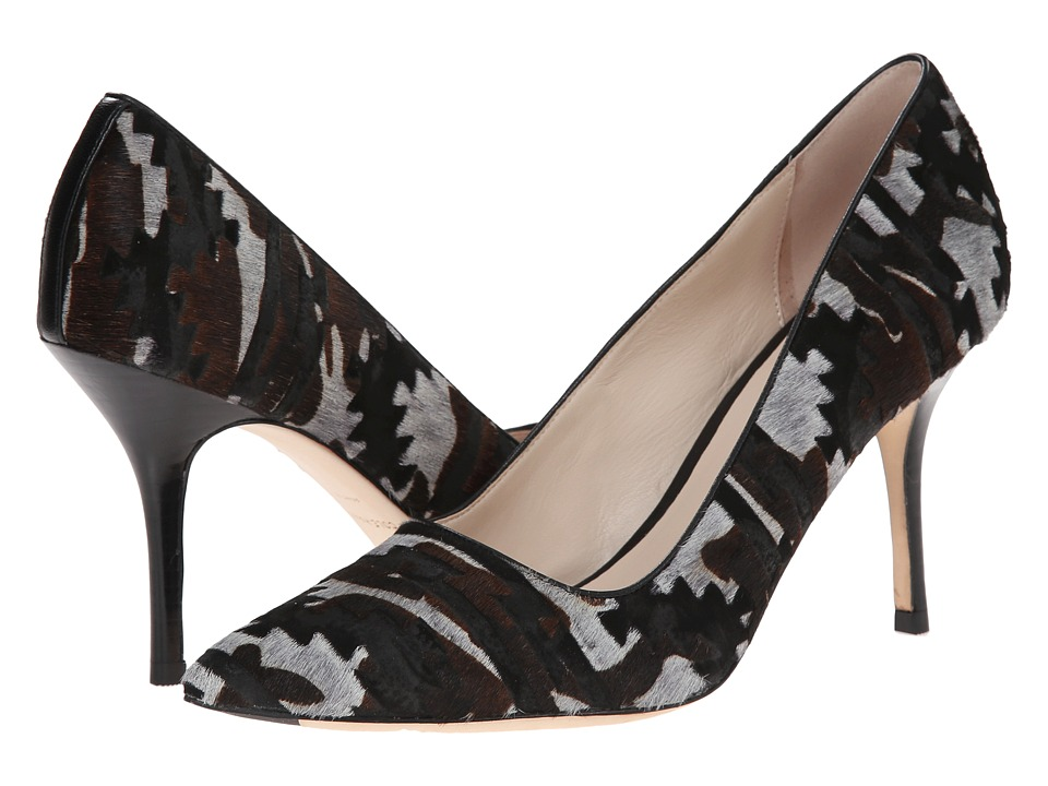 Cole Haan - Bradshaw Pump 85 (Charcoal Multi Haircalf) High Heels