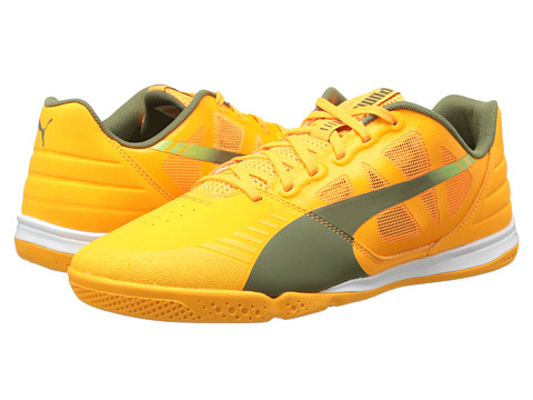 PUMA - Evospeed Sala (Fluo Flash Orange/Burnt Olive/Sharp Green) Men
