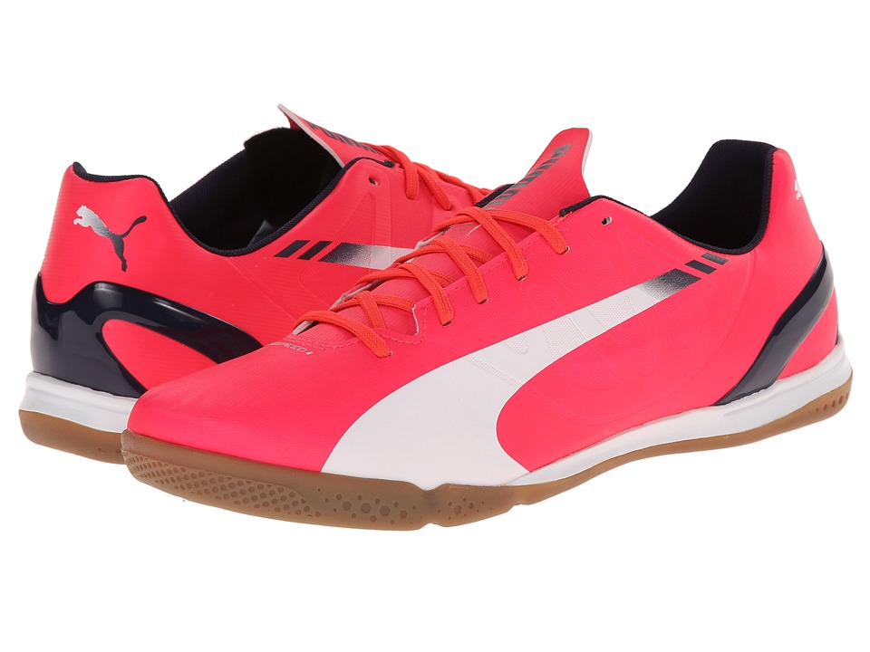 PUMA - evoSpeed 4.3 IT (Bright Plasma/White/Peacoat) Men