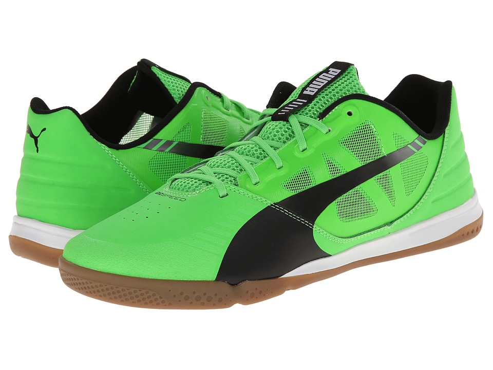 PUMA - Evospeed Sala (Fluo Green/Black/White) Men's Shoes