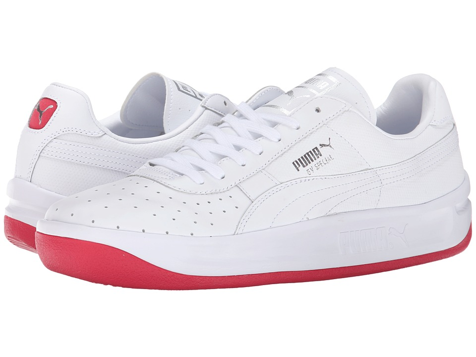 PUMA - GV Special Coastal (Teaberry Red/White) Men's Shoes
