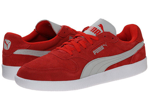 PUMA - Icra Trainer SD (High Risk Red/Gray Violet) Men's Shoes