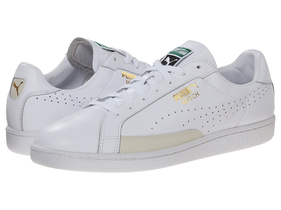 PUMA - Match 74 (White/White) Men's Shoes