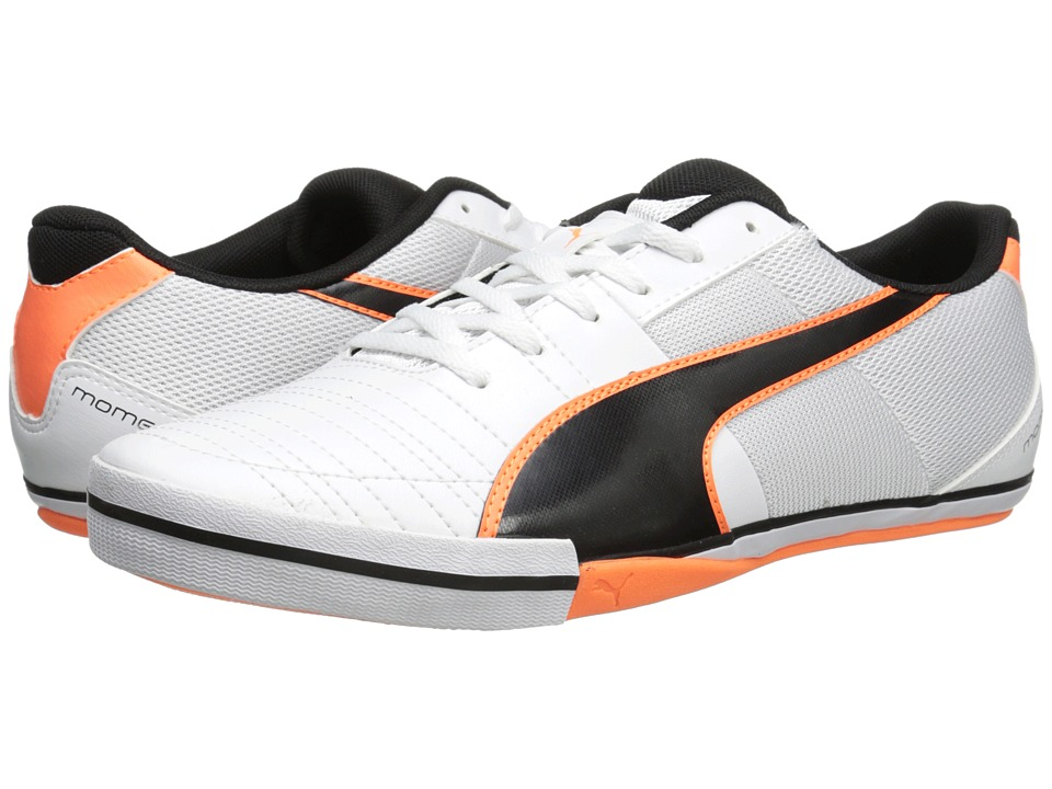 PUMA - Momentta Vulc Sala II (White/Black/Fluo Flash Orange) Men