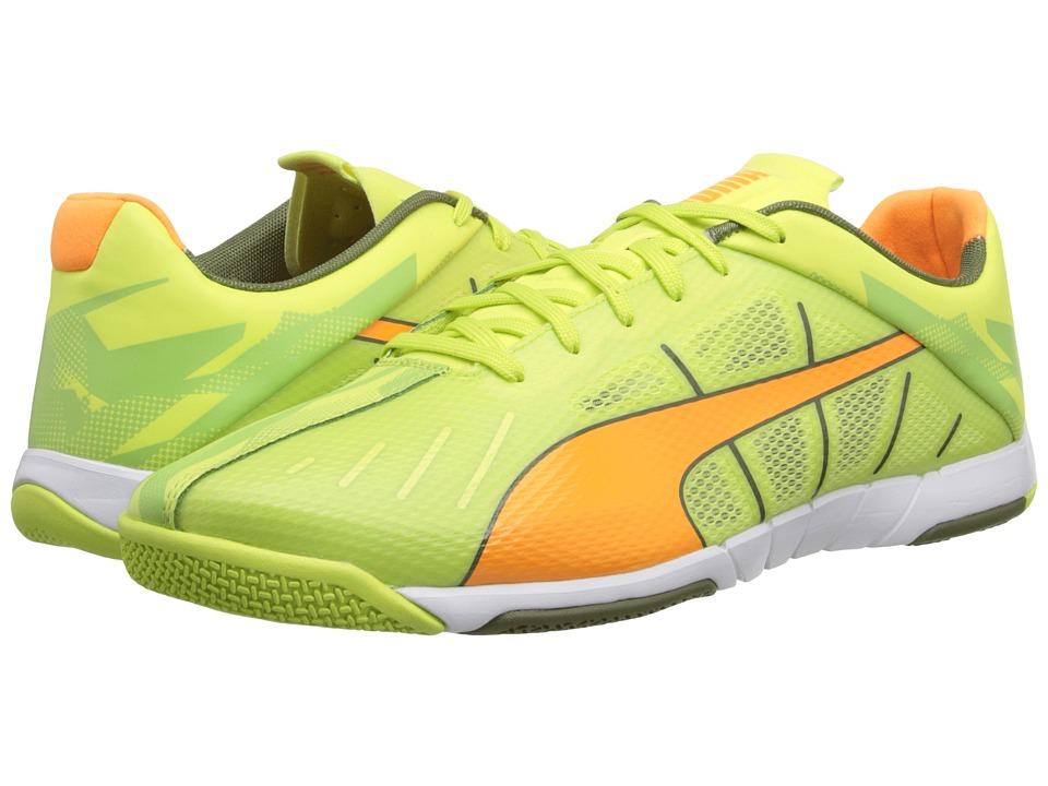 PUMA - Neon Lite 2.0 (Sharp Green/Fluo Flash Orange/Burnt Olive/White) Men
