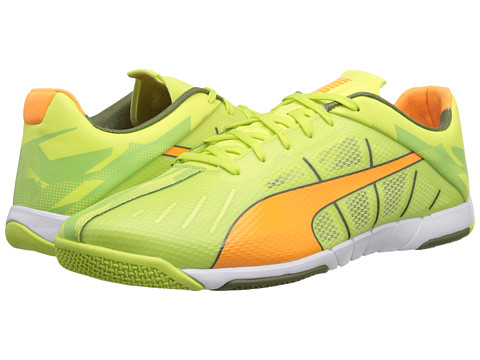 PUMA - Neon Lite 2.0 (Sharp Green/Fluo Flash Orange/Burnt Olive/White) Men's Shoes