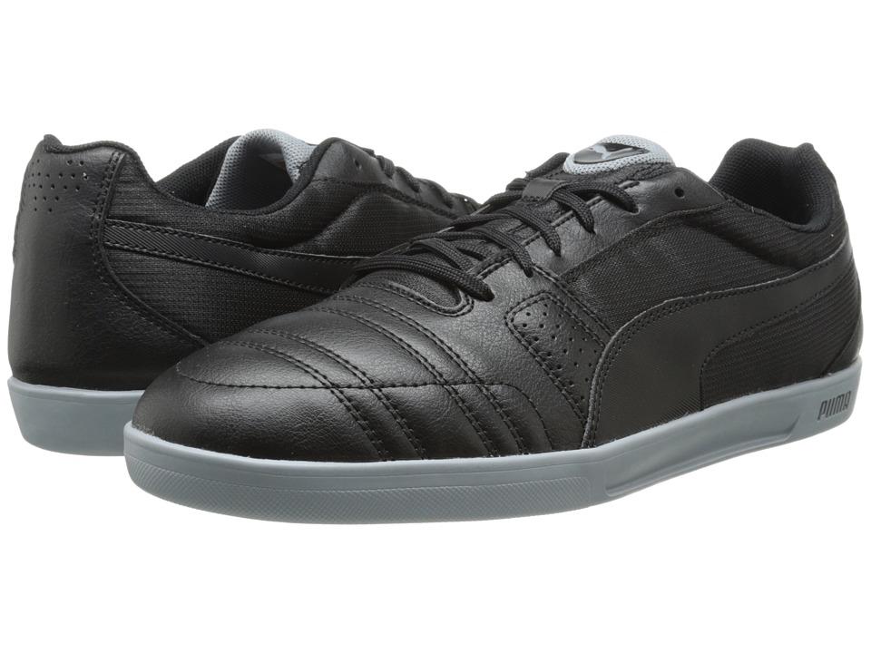 PUMA - Paulista Novo (Black/Black/Tradewinds) Men's Shoes