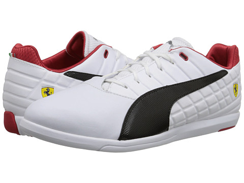 PUMA - Pedale Grid SF (White/Black) Men's Shoes