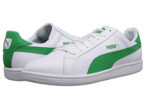 PUMA - Smash L (White/Fern Green) Men