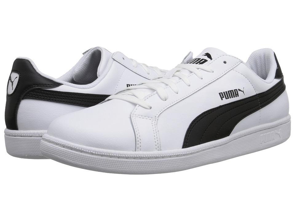 PUMA - Smash L (White/Black) Men's Shoes