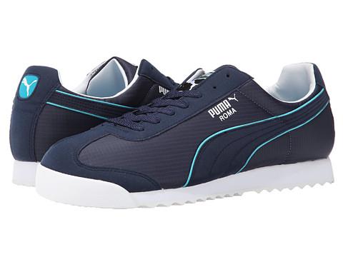 PUMA - Roma Spring NM (Peacoat/Capri Breeze) Men's Shoes