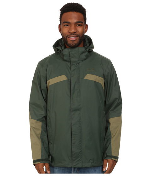 Jack Wolfskin - Topaz Jacket II (Spruce) Men's Coat