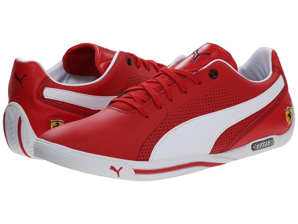PUMA - Selezione SF (Rosso Corsa/White) Men's Shoes