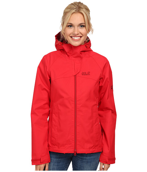 Jack Wolfskin - Arroyo Jacket (Red Fire) Women's Jacket