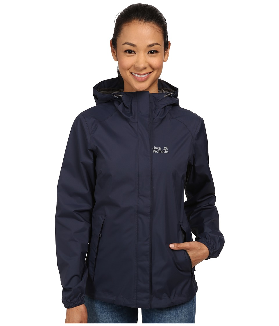 Jack Wolfskin - Cloudburst Jacket (Night Blue) Women's Jacket
