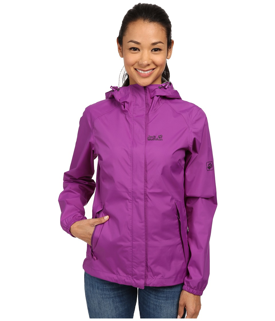 Jack Wolfskin - Cloudburst Jacket (Hyacinth) Women's Jacket