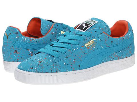 Website Puma Suede Classic 'Splatter' Men Capri Breeze Shoes