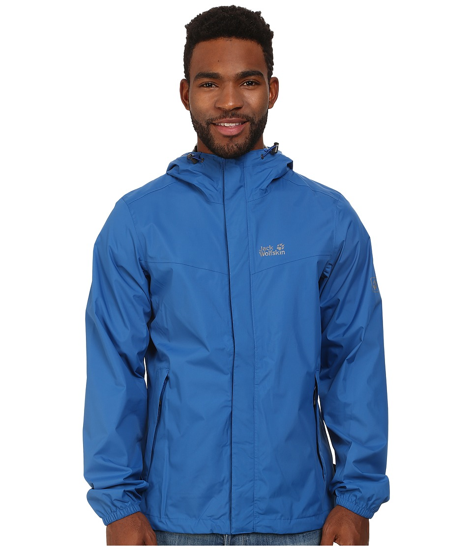 Jack Wolfskin - Cloudburst Jacket (Classic Blue) Men's Jacket