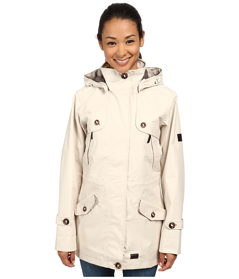 Jack Wolfskin - Queenstown Coat (White Sand) Women's Coat