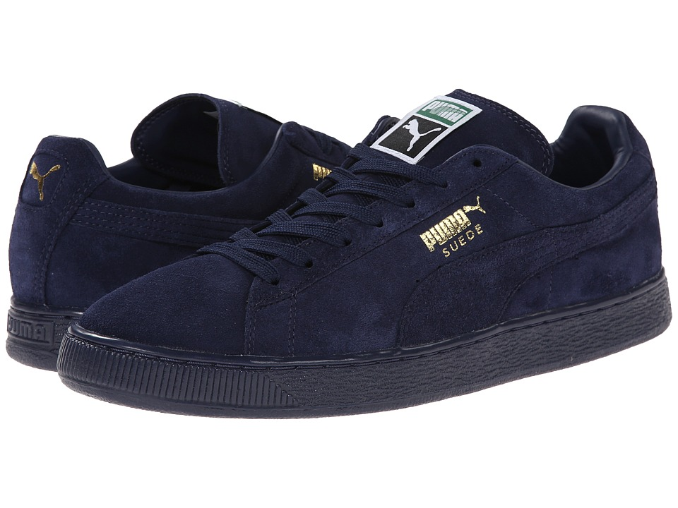 PUMA - Suede Classic+ Iced (Peacoat/Gold Foil) Men