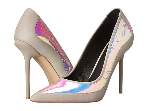 L.A.M.B. - Bethel (Pink/Grey) High Heels