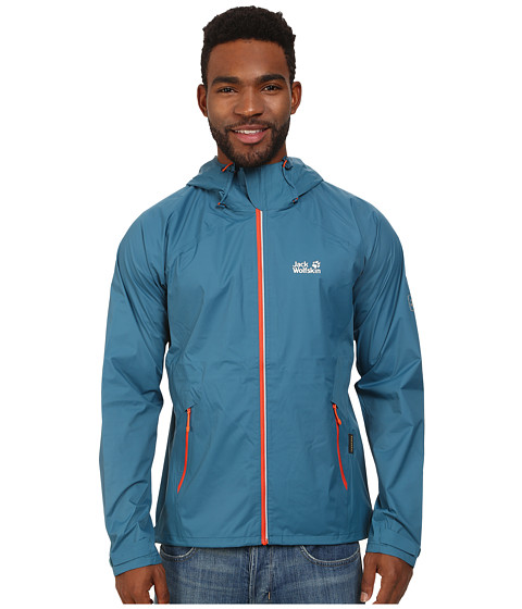 Jack Wolfskin - Exhalation Texapore Jacket (Moroccan Blue) Men
