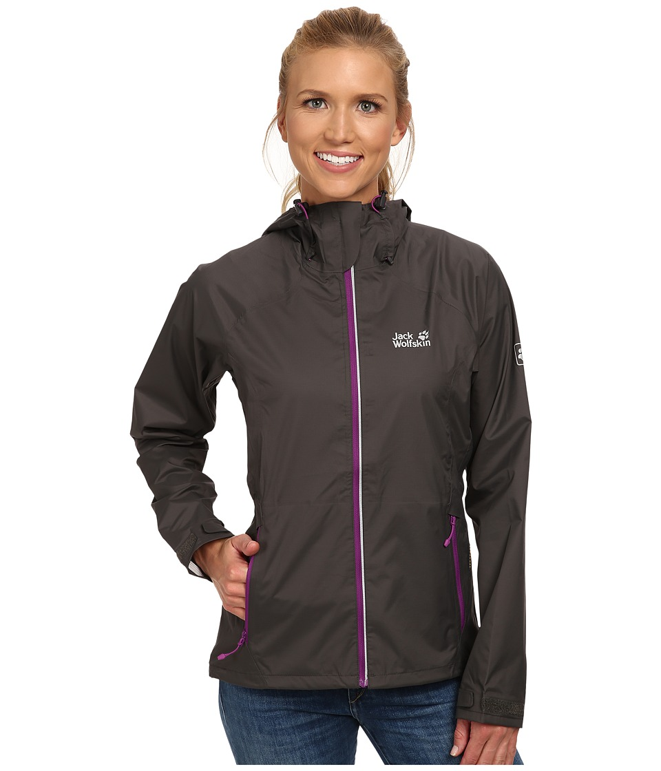 Jack Wolfskin - Exhalation Texapore Jacket (Dark Steel) Women's Jacket
