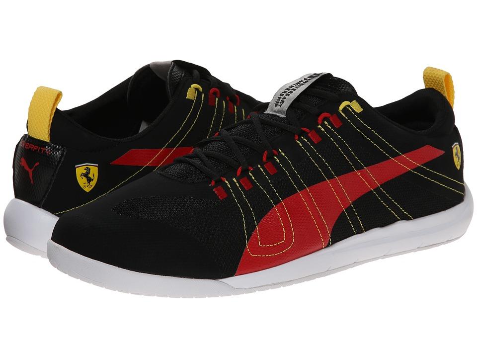 PUMA - TECH Everfit + SF10 (Black/Rosso Corsa) Men's Shoes