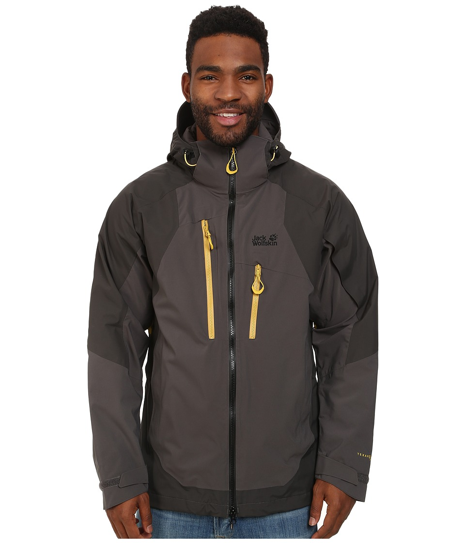 Jack Wolfskin - All Terrain XT Jacket (Dark Steel) Men