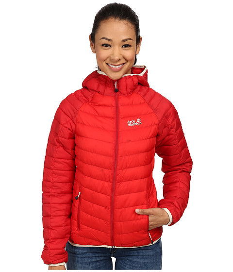 Jack Wolfskin - Zenon XT Jacket (Red Fire) Women's Coat