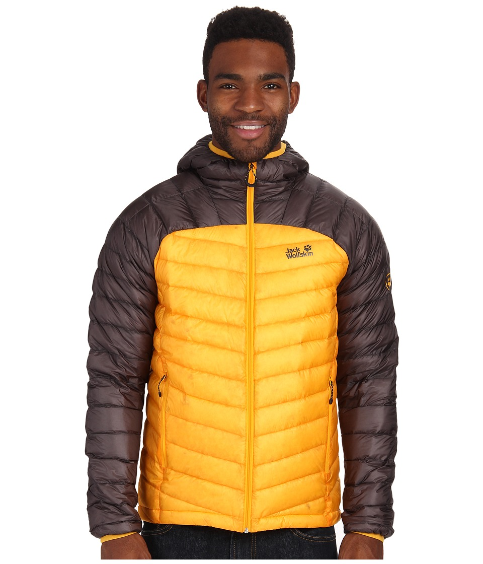 Jack Wolfskin Argo Jacket (Burly Yellow) Men