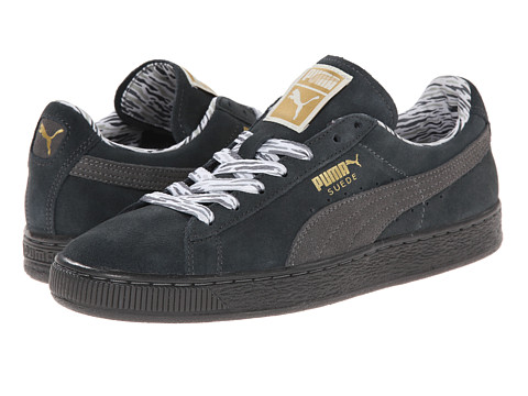 PUMA - Suede Classic Lo Coastal (Dark Shadow) Women