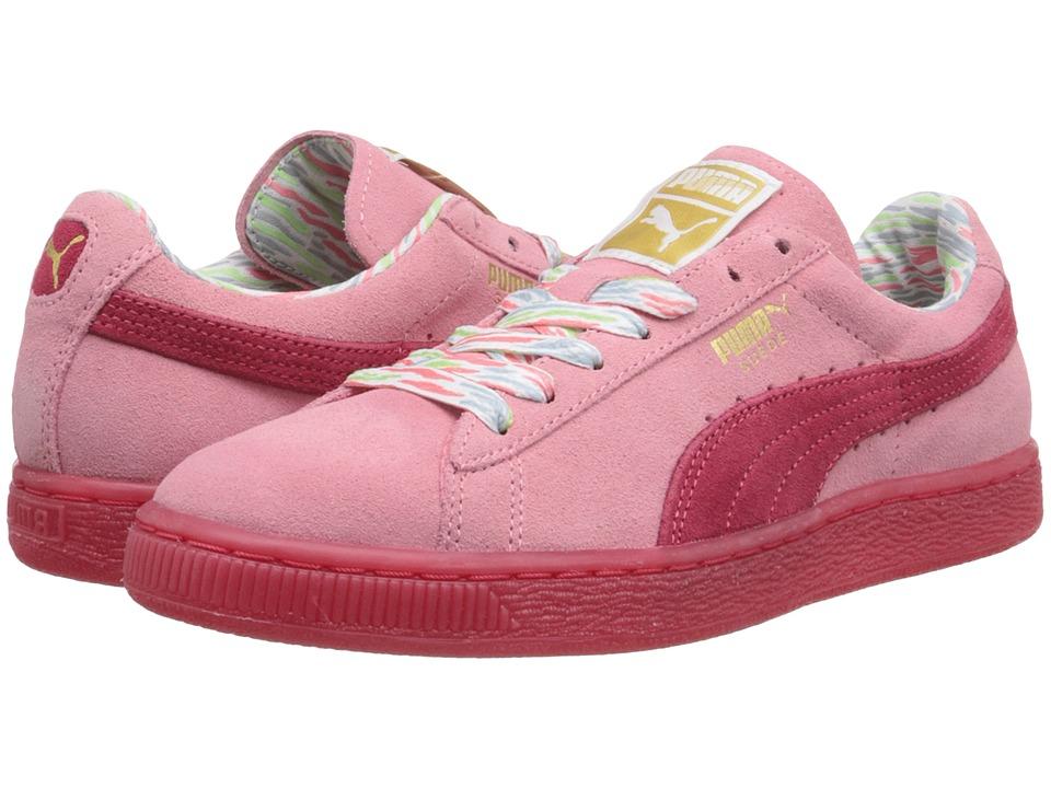 PUMA - Suede Classic Lo Coastal (Flamingo Pink) Women's Shoes