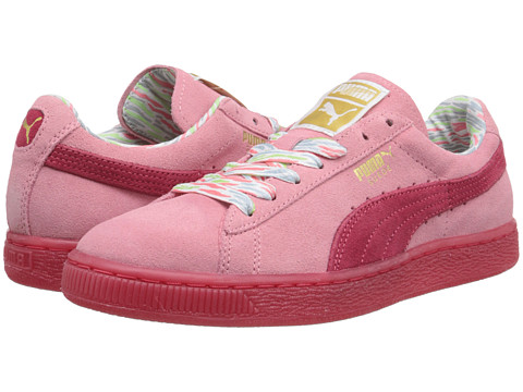 PUMA - Suede Classic Lo Coastal (Flamingo Pink) Women's Shoes