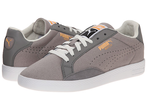 PUMA - Match Lo Canvas Sport (Frost Gray/Vaporous Gray/Peach Cobbler) Women