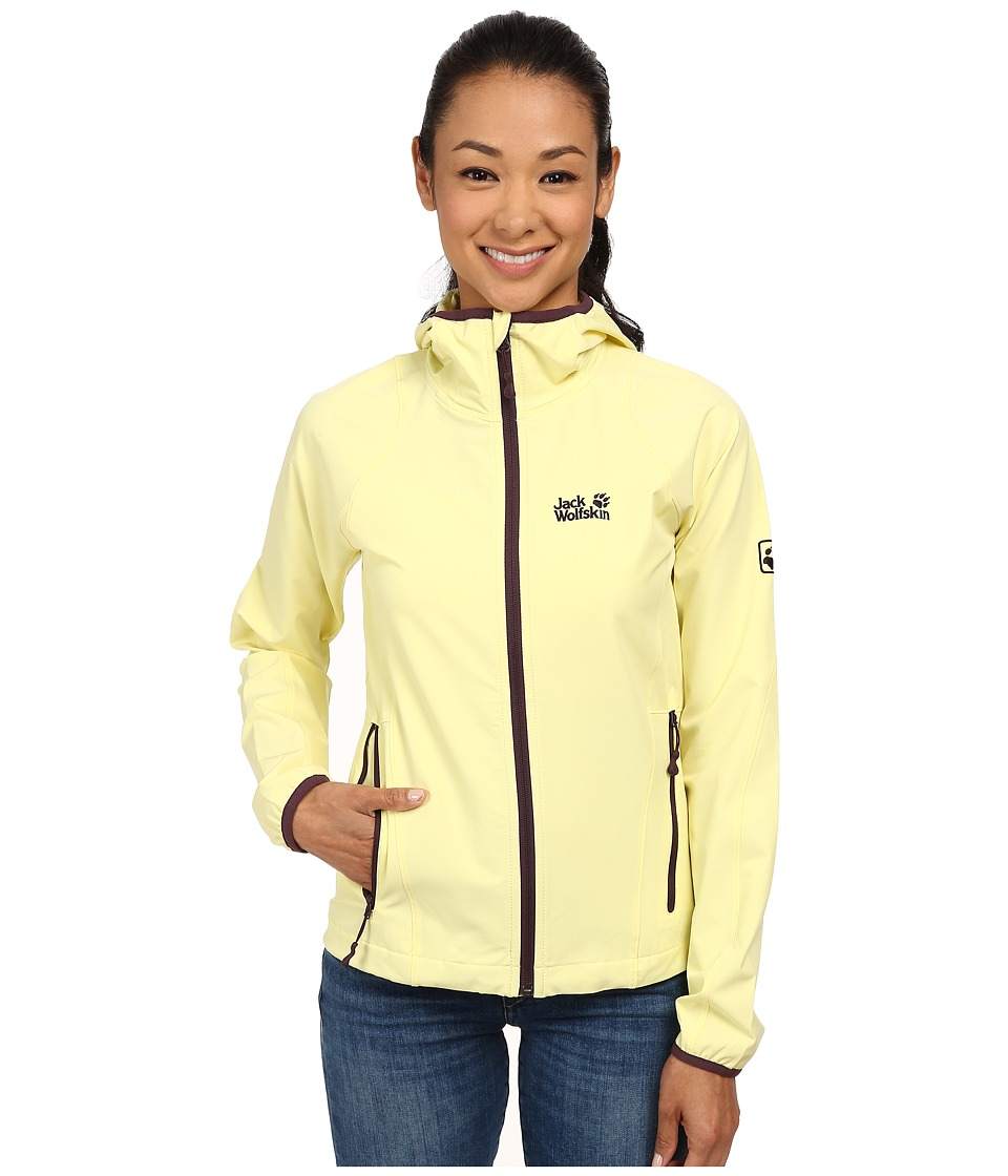 Jack Wolfskin - Turbulence Jacket (Lemonade) Women's Jacket
