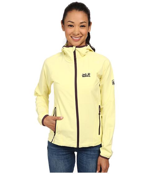 Jack Wolfskin - Turbulence Jacket (Lemonade) Women's Jacket