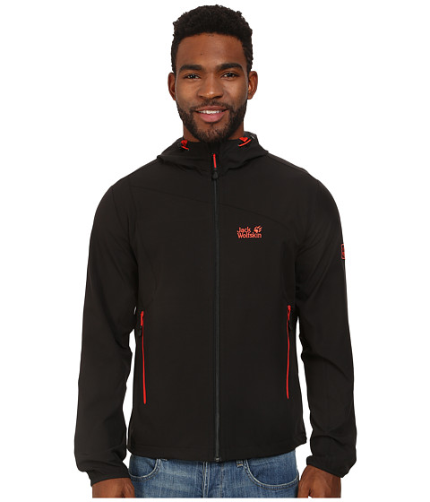 Jack Wolfskin - Turbulence Jacket (Black) Men's Jacket