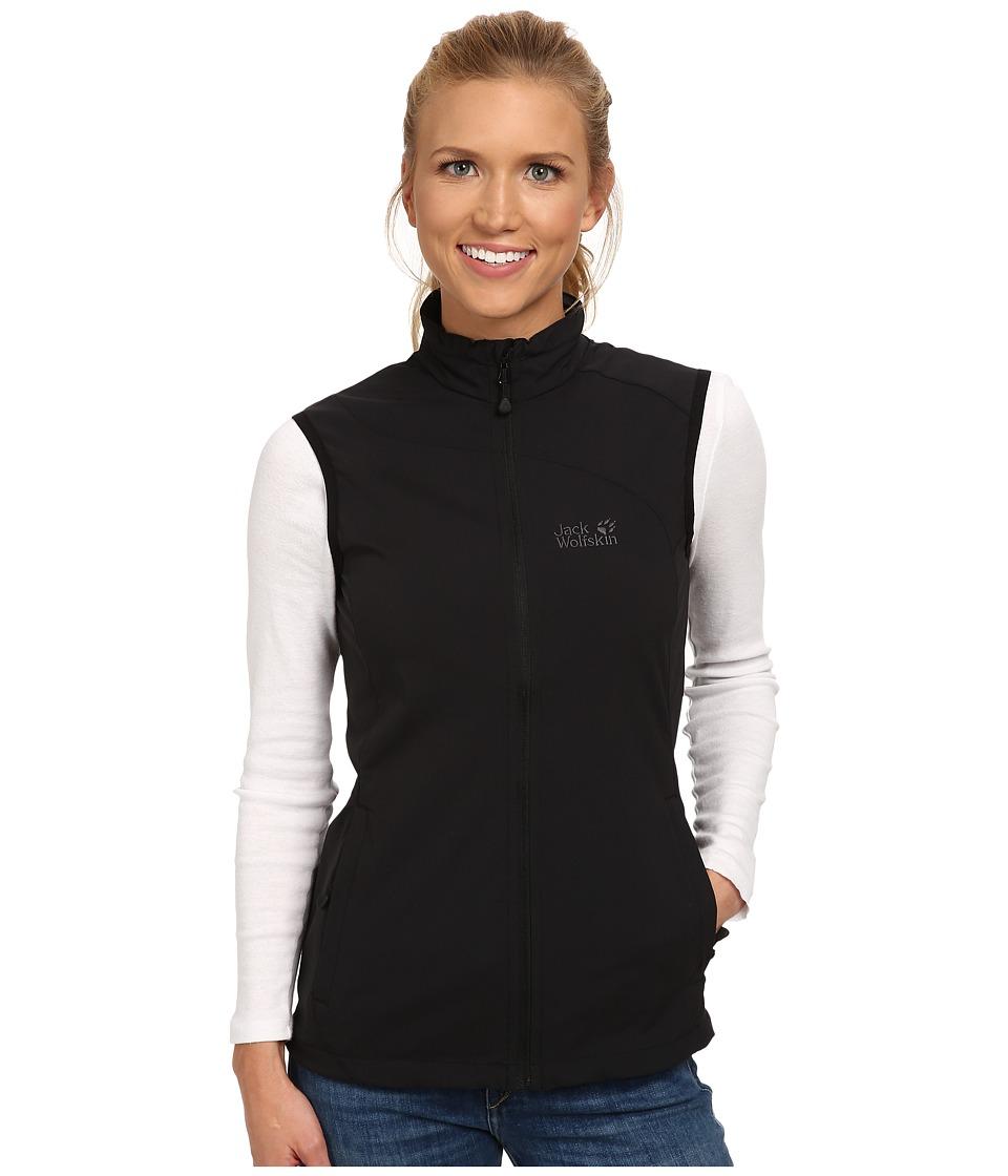 Jack Wolfskin - Activate Vest (Black) Women's Vest